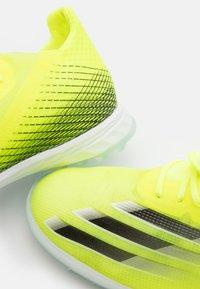 adidas Performance - X GHOSTED.1 TF - Kopačky na umělý trávník - solar yellow/core black/royal blue - 5