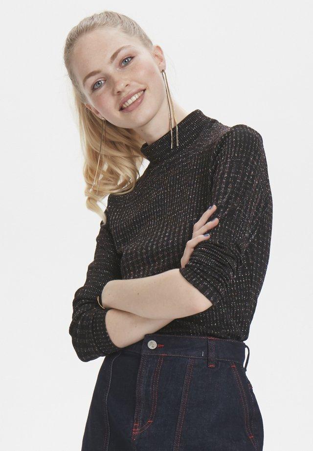 DHZOE - Bluzka z długim rękawem - black