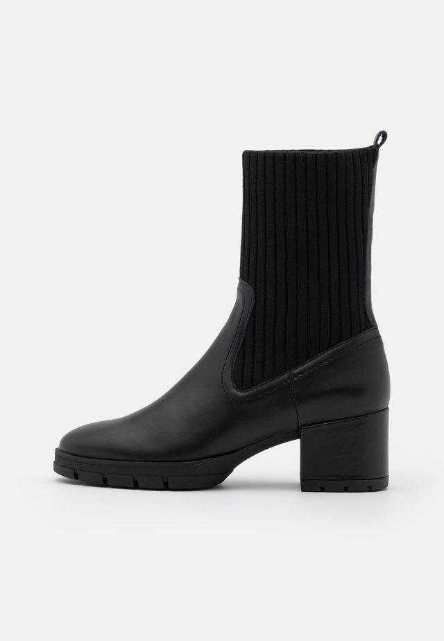 JESE - Platform ankle boots - black