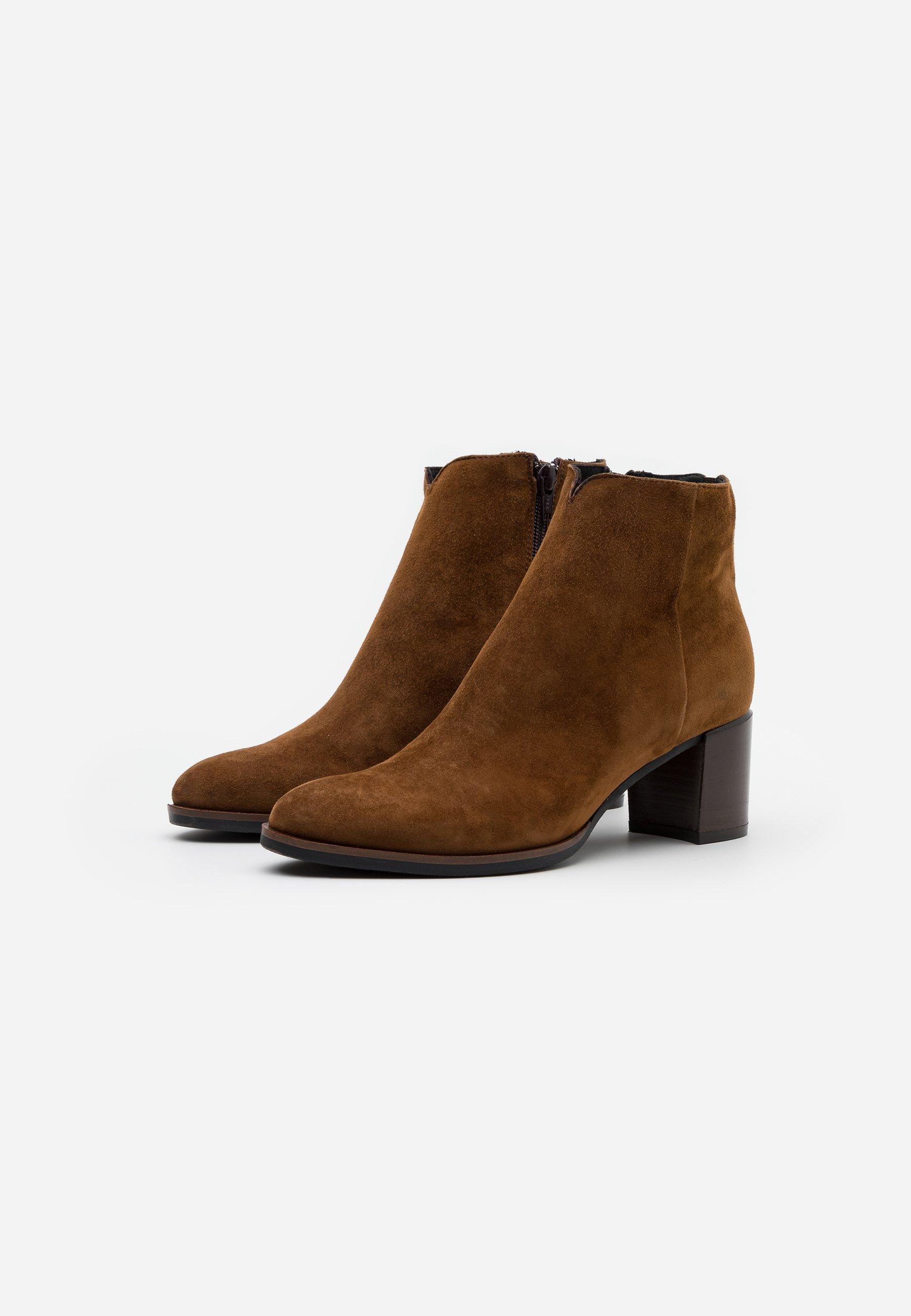Maripé Ankle Boot cognac/cognac