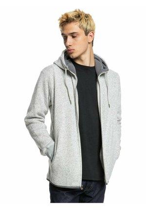 KELLER - Zip-up sweatshirt - light grey heather