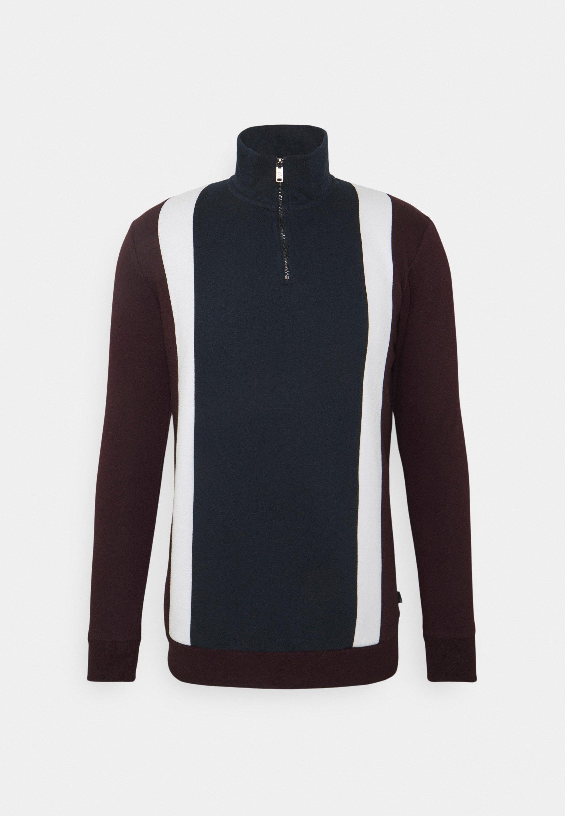 Men VERTICAL PANEL ZIP - Sweatshirt