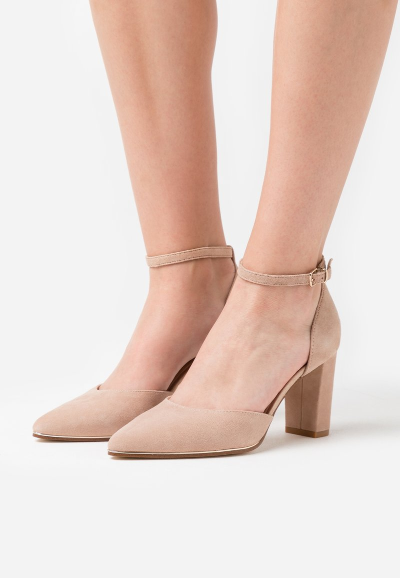 Anna Field - LEATHER - Classic heels - beige