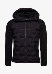 Superdry - SONIC CITY HYBRID - Zip-up hoodie - black - 3