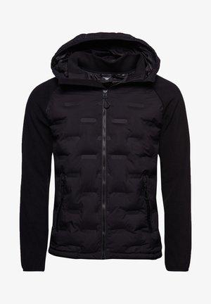 SONIC CITY HYBRID - Zip-up sweatshirt - black