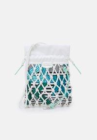 KARL LAGERFELD - KNOTS MINI HOBO - Handbag - off white - 0