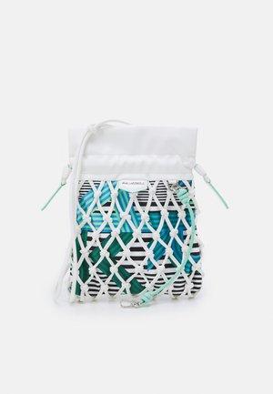 KNOTS MINI HOBO - Handbag - off white