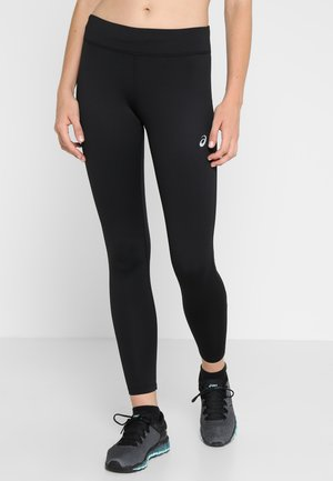 SILVER WINTER - Legginsy - performance black