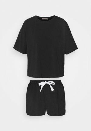 SET - Pyžamo - black