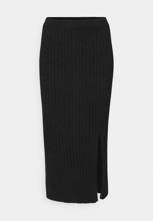 Jupe crayon - black solid