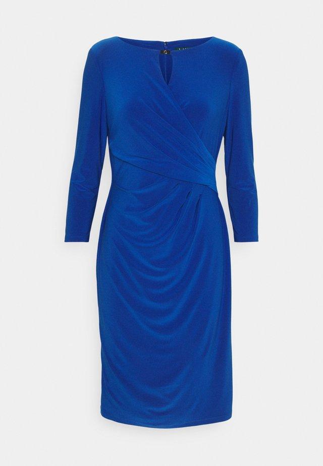 MID WEIGHT DRESS TRIM - Etui-jurk - summer sapphire