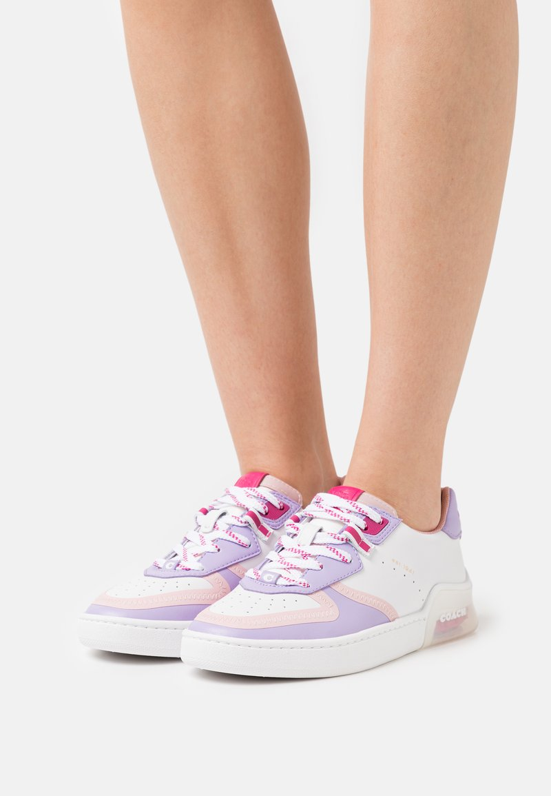 Coach - CITYSOLE COURT - Trainers - optic white/lilac