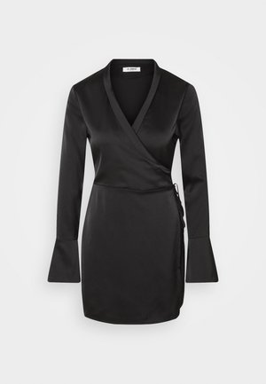 GIA DRESS - Korte jurk - black
