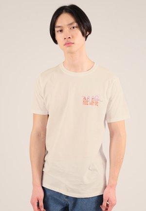 ROLLER COASTER - T-shirt print - beige