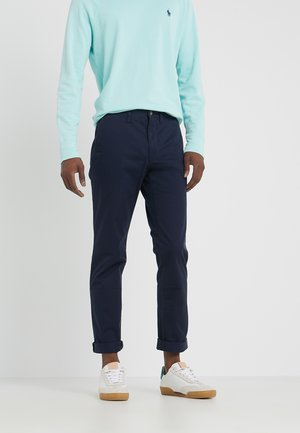 SLIM FIT BEDFORD PANT - Trousers - nautical ink