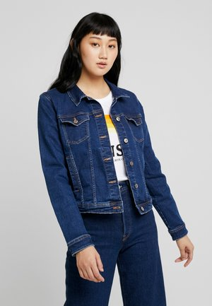 ONLTIA JACKET - Denim jacket - dark blue denim