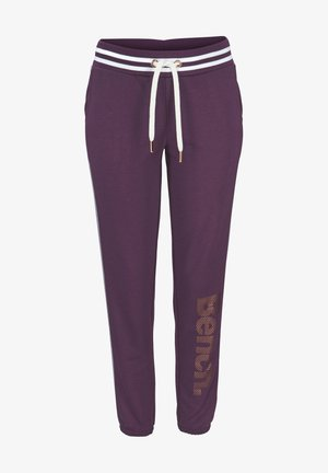 Tracksuit bottoms - aubergine
