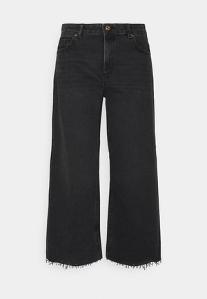 ONLSONNY LIFE - Flared jeans - black denim