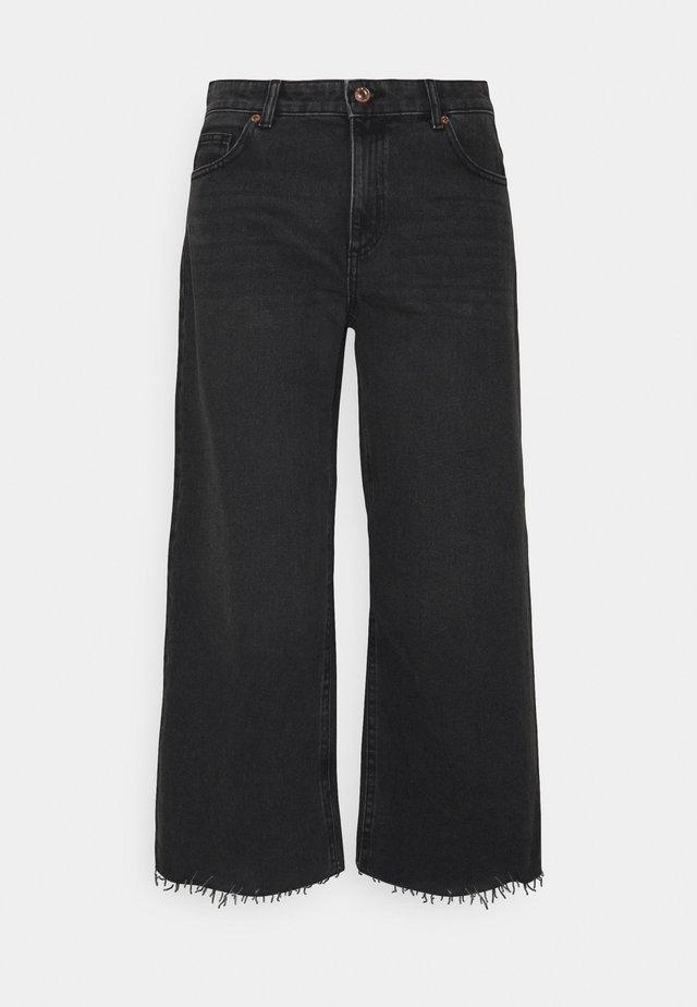 ONLSONNY LIFE - Široké džíny - black denim