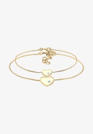 GLASS CRYSTAL - Bracelet - gold-coloured
