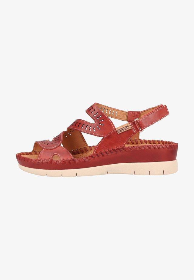 Sandales compensées - sandia
