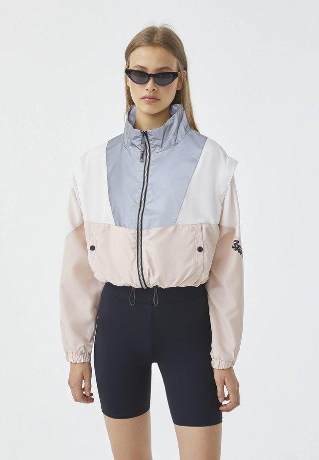 Training jacket - rose