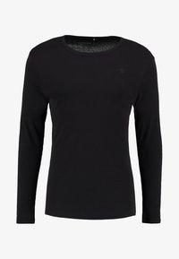 G-Star - BASE 1-PACK  - Long sleeved top - black - 4