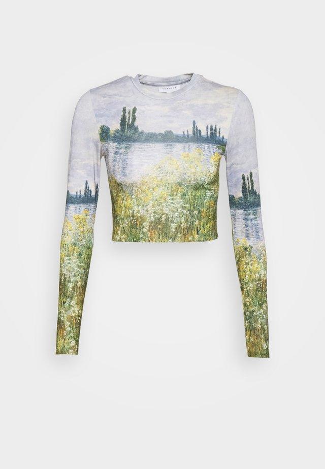 ARTISTIC LANDSCAPE - Langærmede T-shirts - multi