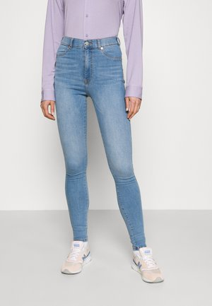 SOLITAIRE - Jeggings - storm light blue