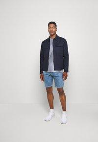 Topman - SMART SHACKET  - Summer jacket - navy - 1