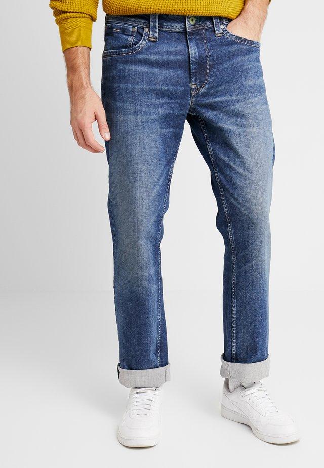 KINGSTON ZIP - Straight leg -farkut - wiser wash med used