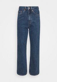 Monki - ZAMI LA LUNE - Straight leg jeans - blue medium dusty - 4