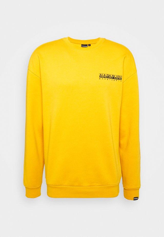 YOIK  UNISEX - Sweatshirt - yellow solar