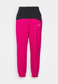Nike Sportswear - Tracksuit bottoms - fireberry/black/white - 5