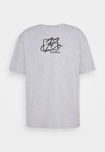 SCRIPT - Print T-shirt - grey