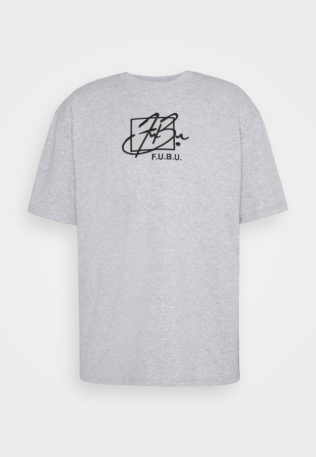 SCRIPT - T-shirt con stampa - grey