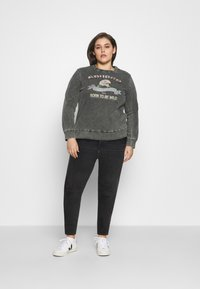 Levi's® Plus - 720 PL HIRISE SUPER SKNY - Jeans Skinny Fit - smoked out plus - 1
