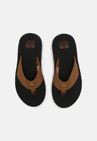 Reef - FANNING - T-bar sandals - grey khaki - 3