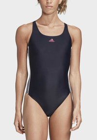 adidas Performance - ATHLY V 3-STRIPES SWIMSUIT - Swimsuit - blue - 2