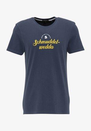 T-SHIRT - Print T-shirt - marine