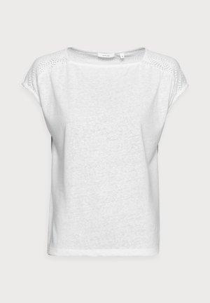 SEYMONA - T-shirt z nadrukiem - milk