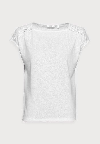 SEYMONA - Print T-shirt - milk