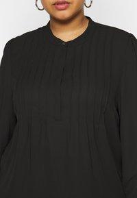 Selected Femme Curve - SLFVIA TOP  - Blouse - black - 5