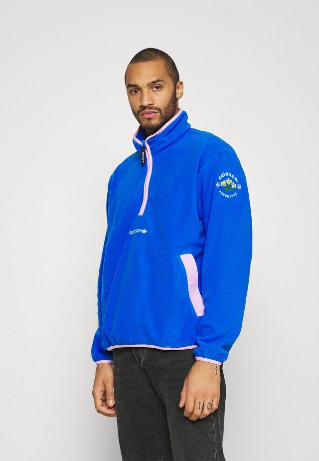 Fleece jumper - glory blue