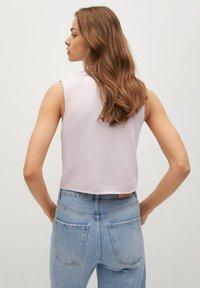 Mango - BROTO - Button-down blouse - violet clair pastel - 2