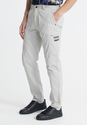 AVIATOR  - Cargo trousers - light grey