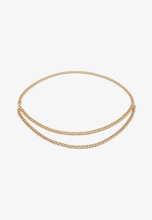 PCPANZI WAIST CHAIN BELT KEY - Waist belt - gold-coloured