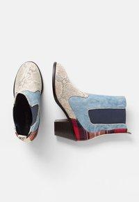 Desigual - Classic ankle boots - blue - 2