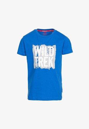 ZEALOUS - Print T-shirt - blue