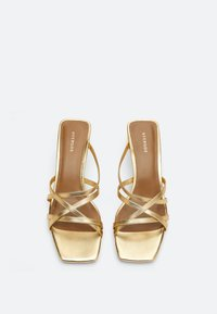 Uterqüe - Sandals - gold - 1